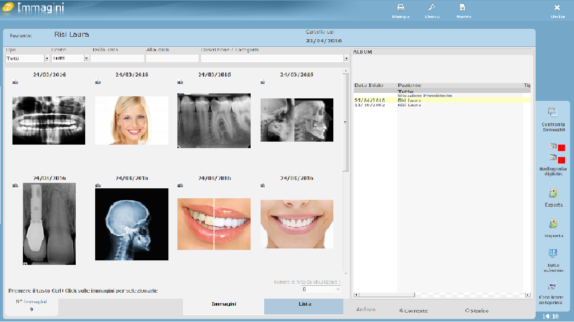 caratteristiche software mac dentisti